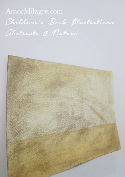 Amor Milagre Golden Air Color Nature Paintings Watercolor Abstract The Shop at Dove Cottage Children's Book Illustrations beautiful for all spaces ages, nursery amormilagre.com