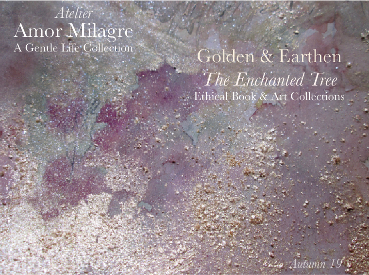 Amor Milagre Shop Golden & Earthen The Enchanted Tree New Children's Book & Art Collection, Painting Autumn 2019 amormilagre.com