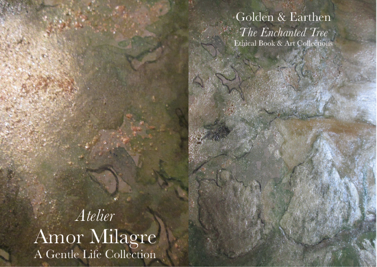 Amor Milagre Shop Golden Peaceful Land 5 Golden & Earthen The Enchanted Tree New Children's Book & Art Collection Autumn 2019 amormilagre.com