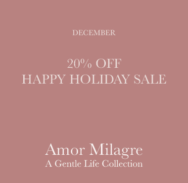 Amor Milagre December Holiday Sale! Ethical Handmade Gift Shop Art Apparel Baby & Child amormilagre.com
