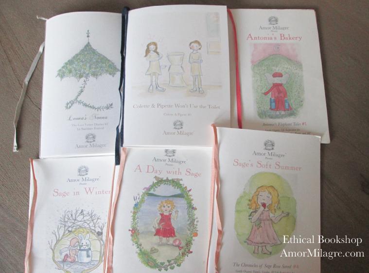 Amor Milagre Bookshop Loving Ethically Handmade Children's Book and Novels for all ages! amormilagre.com