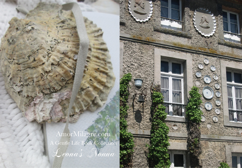 Amor Milagre Presents Leona's Nonna 1st Summer Festival The Love Letter Diaries #1 ethical book series house italy seashell amormilagre.com