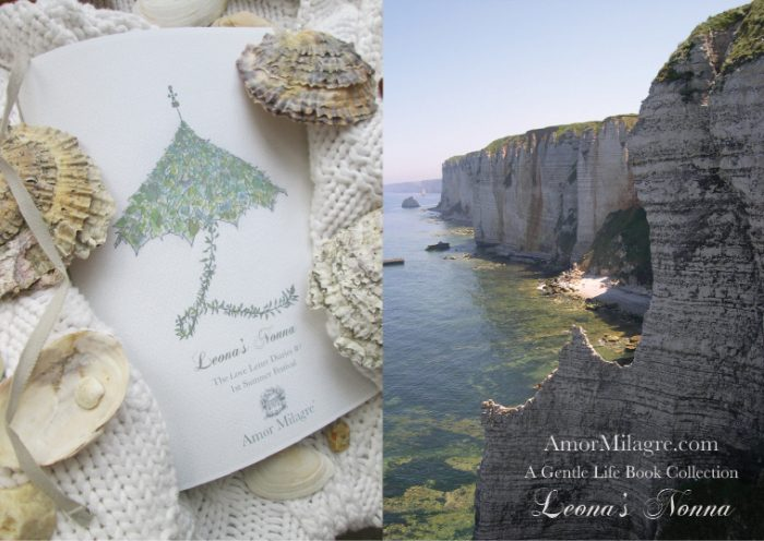 Amor Milagre Presents Leona's Nonna 1st Summer Festival The Love Letter Diaries #1 ethical book series ocean front cover amormilagre.com