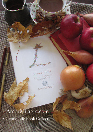 Amor Milagre Presents Leona's Wish 1st Autumn Festival The Love Letter Diaries #2 ethical book series amormilagre.com 0
