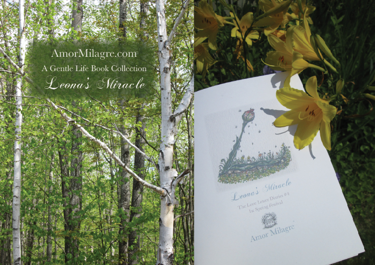Amor Milagre Leona's Miracle 1st Spring Festival The Love Letter Diaries #4 ethical book series amormilagre.com 20