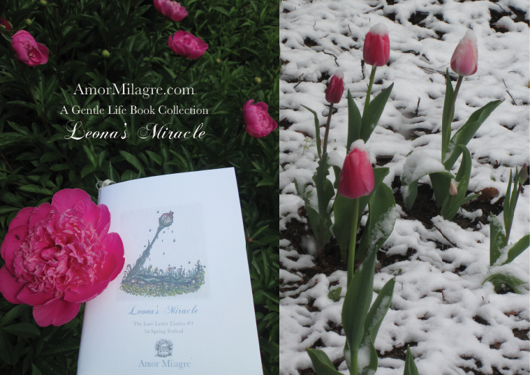 Amor Milagre Leona's Miracle 1st Spring Festival The Love Letter Diaries #4 ethical book series amormilagre.com 7