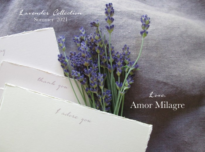 Amor Milagre Ethereal Romance Deckled Edge Notecards Pink Cream Stationery greeting cards amormilagre.com